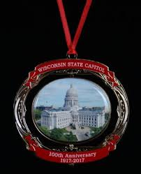 wisconsin state capitol ornament