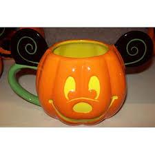 your wdw store disney coffee cup mug halloween pumpkin