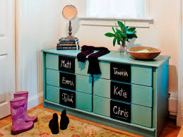 Mudroom by How To Turn An Old Dresser Into Mudroom Storage How Tos Diy