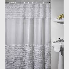 Curtains With Ruffles Whimsy Pretty Things Ruffle Shower Curtains