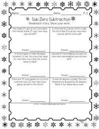 2nd grade winter word problems 2 oa 1 winter words word
