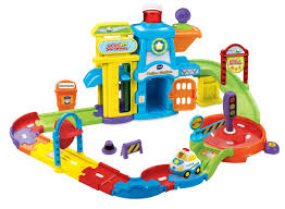 Plan Toys City Series Parking Garage Review by Vtech Go Go Smart Wheels Police Station Playset Toys