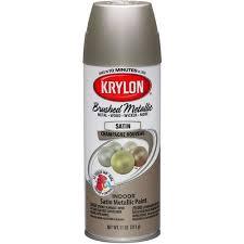 krylon brushed metallic paint champagne nouveau walmart com