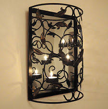 Shabby Chic Candle Sconces Candle Wall Sconces Ebay