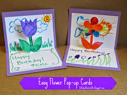 Homemade Card Ideas by Homemade Birthday Cards For Kids To Create Homemade Birthday
