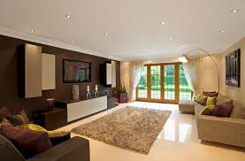 Modern Dark Wood Built In Tv Unit Bespoke Furniture Fitted - Contemporary fitted living room furniture