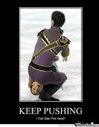 Skating Memes - keep pushing by ben meme center
