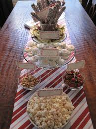 christmas dessert bar party hmh designs