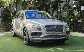 bentley bentayga wallpaper 2017 bentley bentayga first edition lands in l a