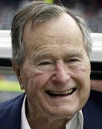 george h w bush date of birth former president george h w bush leaves hospital after fall