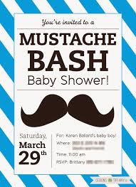 baby shower mustache free printable mustache baby shower bash designs by tiffanyco