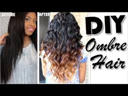 how to ambray hair how to ombre hair diy youtube