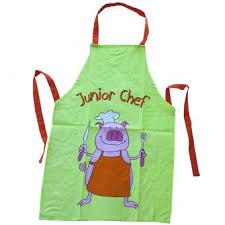 tablier cuisine enfants tablier de cuisine enfant junior chef achat prix fnac