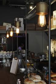 Greige Interior Design Ideas And by Nice Pipe Lighting Attached To Bar Top Not Hanging From Ceiling