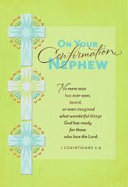confirmation crosses three crosses confirmation card for nephew greeting cards hallmark