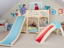 Childrens Bunk Bed With Slide Bunk Bed With Stairs And Slide Foter