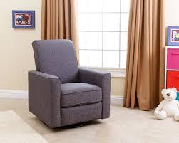Swivel Glider Chair Nursery Abbyson Living Emma Nursery Swivel Glider Recliner Chair Grey