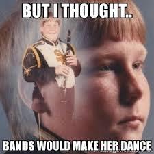 Bands Make Her Dance Meme - kid meme bands will make her dance