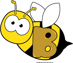 bee clipart letter b bee clipart