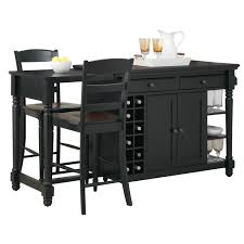 Belmont Black Kitchen Island by Kitchen Granite Island Countertop Black Kitchen Trolley Black