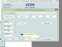 audi service interval reset how to reset service indicator vag com