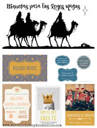 imagenes de reyes magos buenotes etiquetas de regalo para reyes magos www manualidadesytendencias com