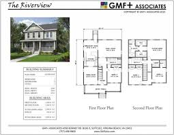 arts and crafts floor plans gmf associates architects narrow lot stock house plans