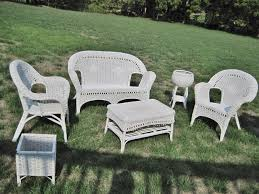 White Patio Furniture Sets - white wicker furniture set descargas mundiales com