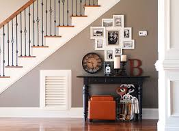 Living Room With Stairs Design Photo Gallery Wall Under The Stairs House Tour Kevin