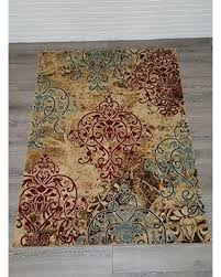 Modern Area Rugs Sale Spectacular Deal On Collection Abstract Damask