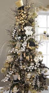 festive black gold silver tree i the bigger size gold