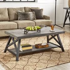 Trestle Coffee Table Trestle Coffee Tables You Ll Wayfair