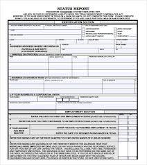 testing daily status report template status template template exles
