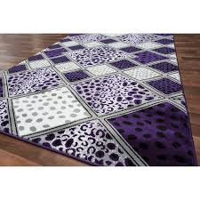 Purple Area Rugs Amazing Rug Purple And Grey Area Rugs Nbacanottes Rugs Ideas For