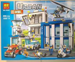 Lego Headquarters Mainan Lego Lego Kw Murah Banyak Macam Jakarta Urban Police