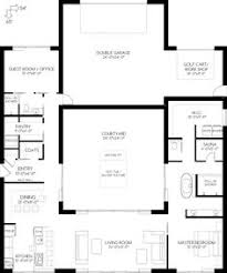 a true courtyard home plan no 580771 house plans by