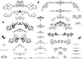 decorative ornament border free vector 23 645 free