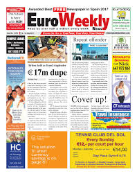euro weekly news costa del sol 6 12 july 2017 issue 1670 by