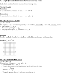 Graphing X And Y Intercepts Worksheet Graphing Parabolas Equations Worksheet Jennarocca