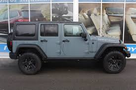 jeep wrangler 4 door maroon pre owned 2014 jeep wrangler unlimited rubicon 4wd convertible in