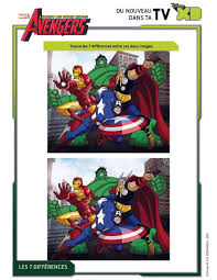 find 7 fejl avengers find the differences spot the difference game