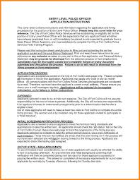 police officer resume cover letter military police officer sample
