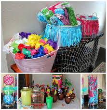 interior design luau themed party decorations room ideas