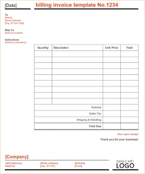 self employed contractor invoice template invoices sample export