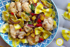 cuisine queue de lotte recette pâtes citronnées queue de lotte salsa exotique cuisine