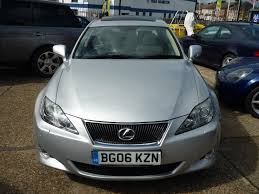lexus woodford hills used 2006 lexus is 220d 2 2 td sport 4dr for sale in middlesex