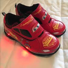 light up shoes size 12 other lightning mcqueen cars light up shoes size 12 poshmark