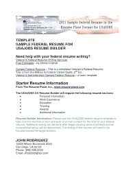 federal resume templates marvelous federal resume sle template for fascinating help with
