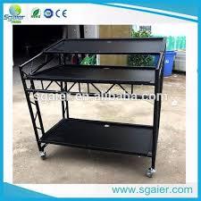 Dj Desk Mobile Dj Booth Table High Quality Dj Bar Counter With Wheels Dj