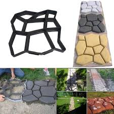 Concrete Driveway Paver Molds by Driveway Pavement Mold Patio Garden Yard Concrete Stepping Stone